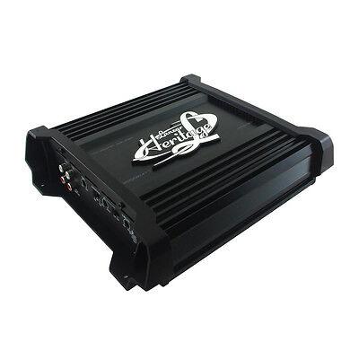 Lanzar Heritage Series 2000 Watt Max Monoblock Car Audio Amplifier   Htg137
