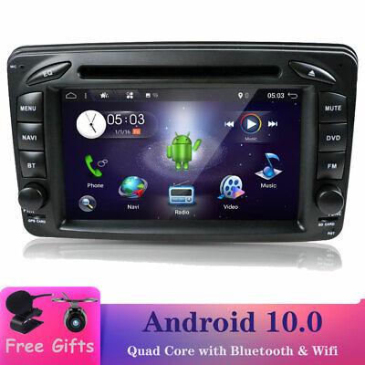 7''Android10.0 Autoradio GPS Navi DVD DAB+ Für Mercedes Benz W203 W209 W639 Vito