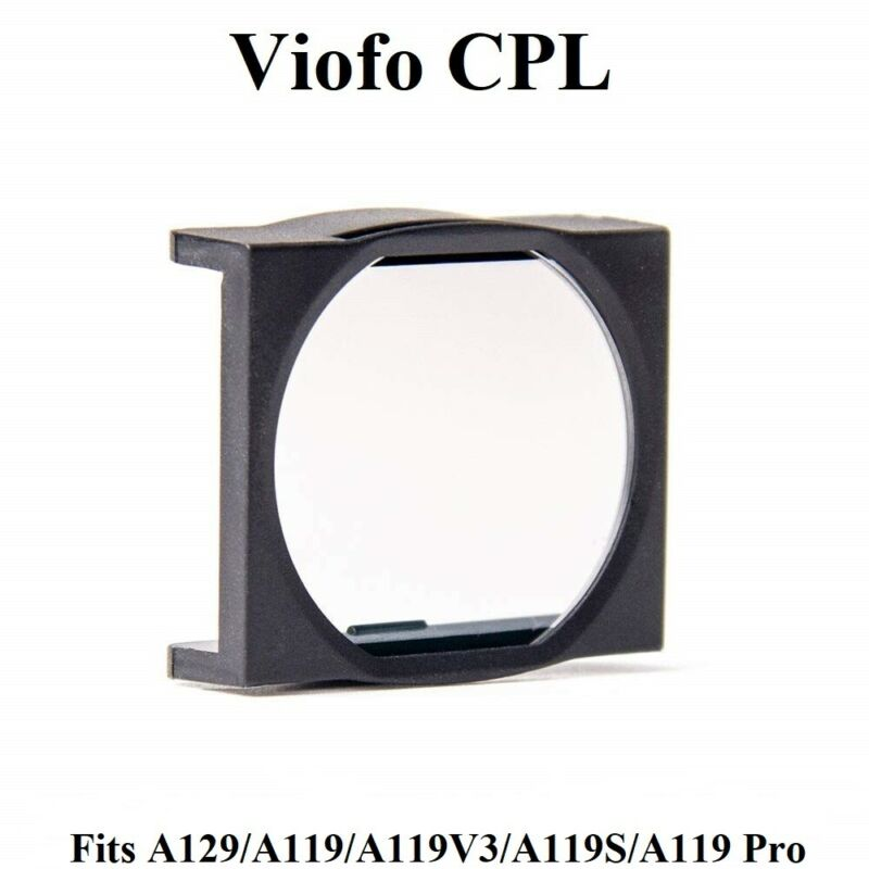 Viofo CPL Filter For The A119 and A129 Series Dash Cameras