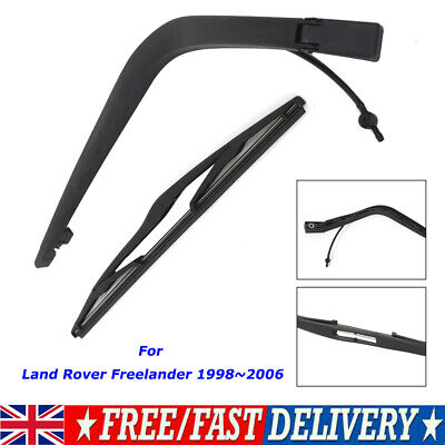 Rear Wiper Arm And Wiper Blade Replacement For LAND ROVER FREELANDER 1998- 2006