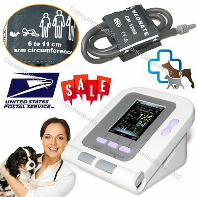 Vet Veterinary Blood Pressure Heart Beat Monitor Animal Nibp Monitor Contec08a