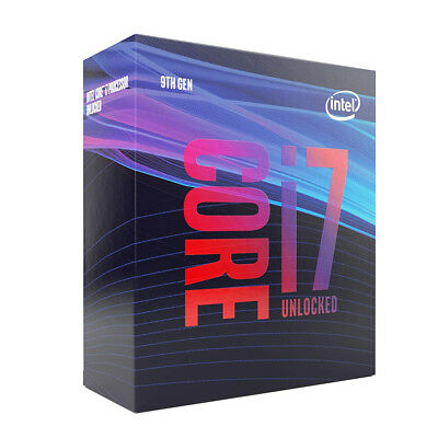 Intel i7-9700K 8 Cores up to 4.9 GHz Turbo Unlocked LGA1151 Desktop Processor