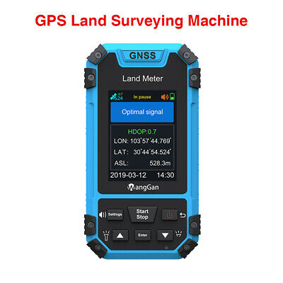 Wanggan Gps Land Meter Gnss Receiver Survey Equipment Slope Distance Measurement
