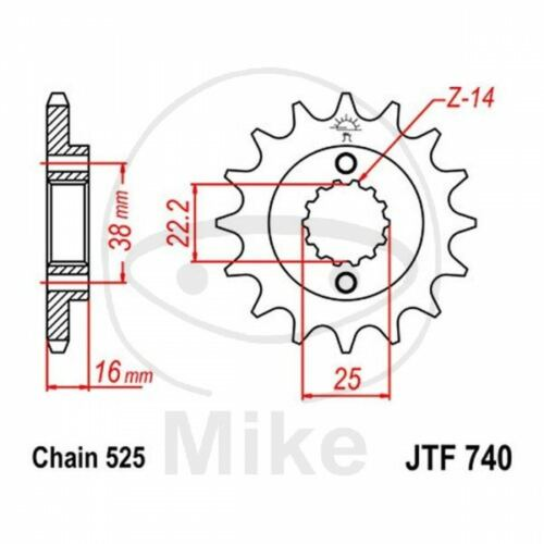 Ducati ST2 1997 2002 Renthal Rear Sprocket 42 Tooth