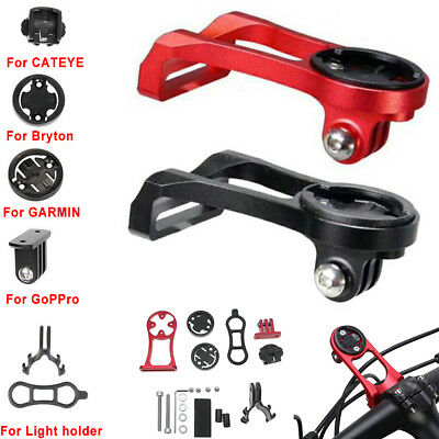 Aluminum Alloy Bike Computer Camera Mount Holder for iGPSPORT Gopro Garmin