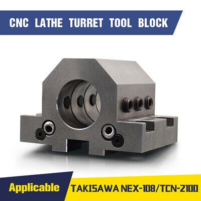 Cnc Lathe Turret Tool Block Bmt Static Tool Holder Fits Mazak Hardinge Takisawa