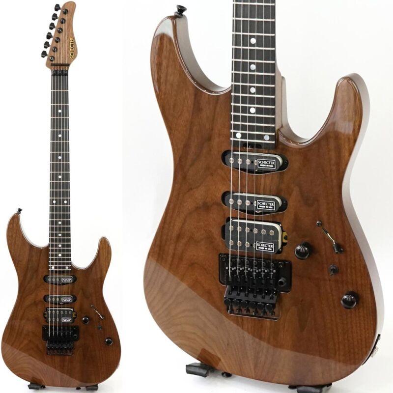 Schecter Ex-iv-b-24-std-frt Walnut Electric Guitar