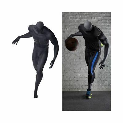 Mens Basketball Headless Sports Mannequin In Dribbling Pose
