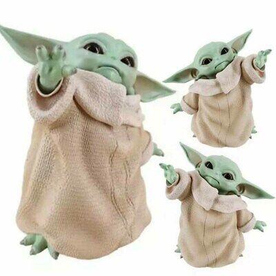 New Baby Yoda Naughty The Mandalorian PVC Figure 15cm Star War for Child Gifts