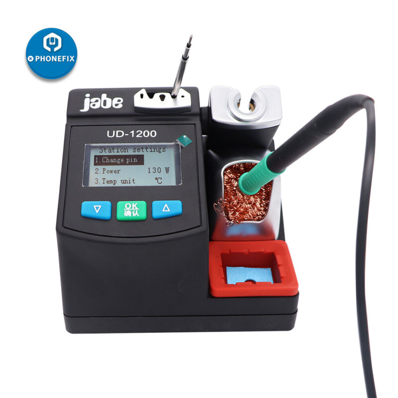 Original Jabe UD-1200 Lead-Free Soldering Station Mobile Phone PCB Welding Tool