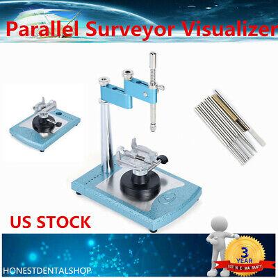 Dental Lab Parallel Surveyor Visualizer Dentist Equipment With Handpiece Holder