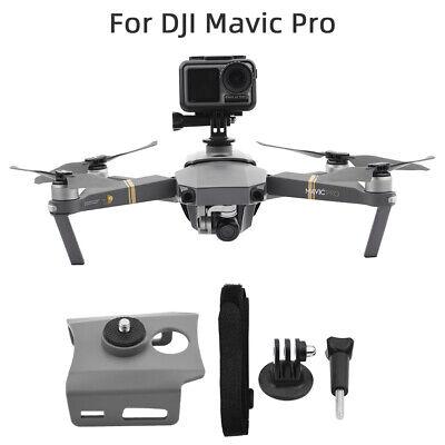 Sport Camera Fill Light 360° Fixed Holder Mount Bracket For DJI Mavic Pro Drone
