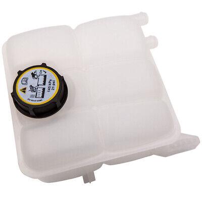 RADIATOR EXPANSION HEADER TANK BOTTLE + CAP For FORD FIESTA MK6 PETROL 1221362