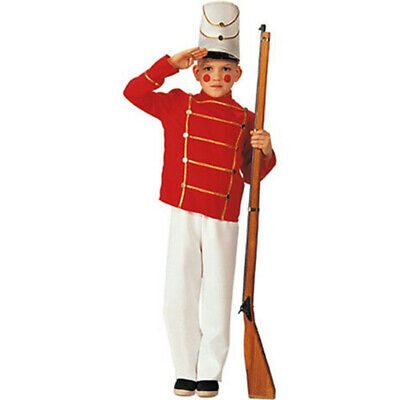 Rubie's Boy's Wooden Toy Soldier Child Costume Small 4-6