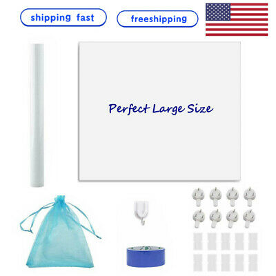 Us 24x48 Whiteboard Sticker Dry Erase Board Markers Wall Note Class Student Diy
