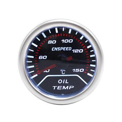 Smiths Kopie Mechanische 52mm Öl Temperatur 40-140C Schwarz Einfassung