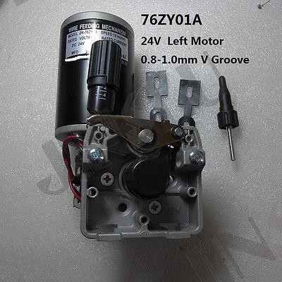 Mig Mag Welding Machine Wire Feed Welder Motor 76zy01a Dc24 0.8-1.0mm Weld Parts