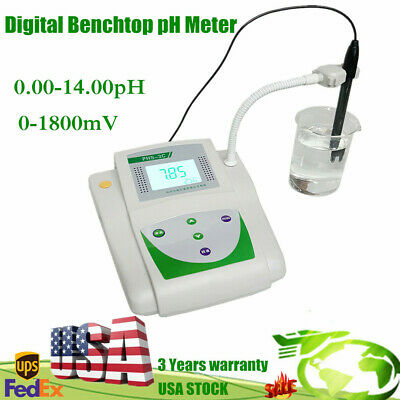 Lab Instrument Precision Ph Meter Benchtop Mv Tester Acidity Meter 0.00-14.00ph