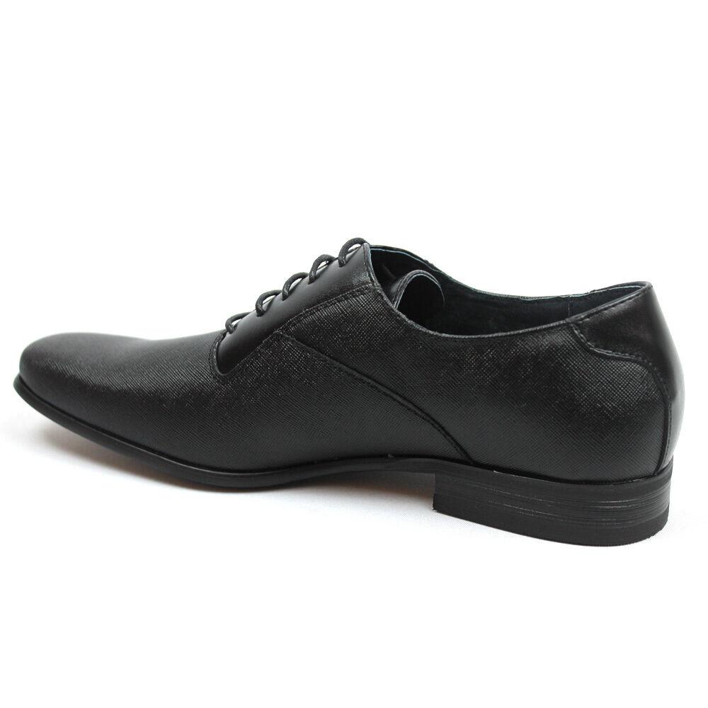 hommes en cuir noir - nouvelles chaussures aldo cuir en dabou tep 9060bb