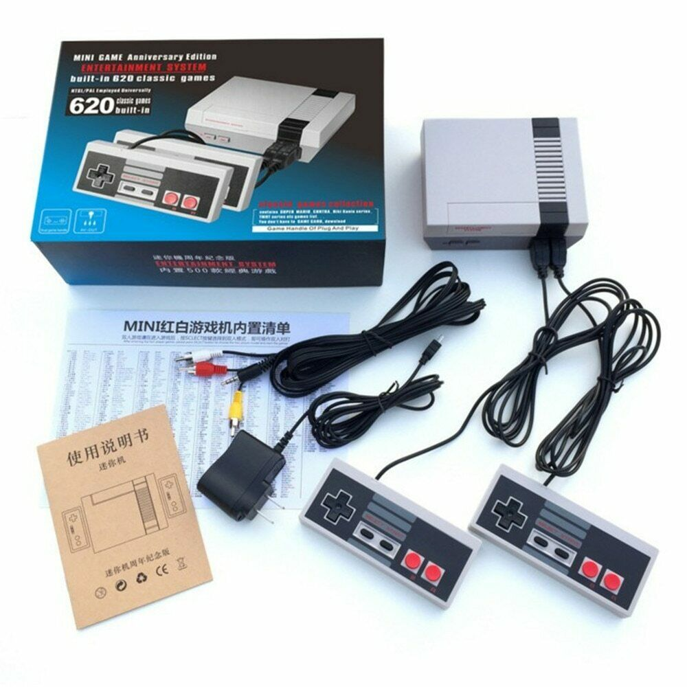 New Mini Retro Classic Video Game Console Built-in 620 Games
