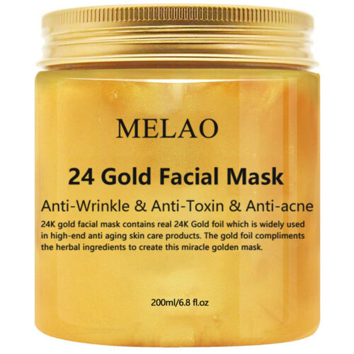 24K Gold Collagen Facial Face Mask Moisture Anti Aging Remov
