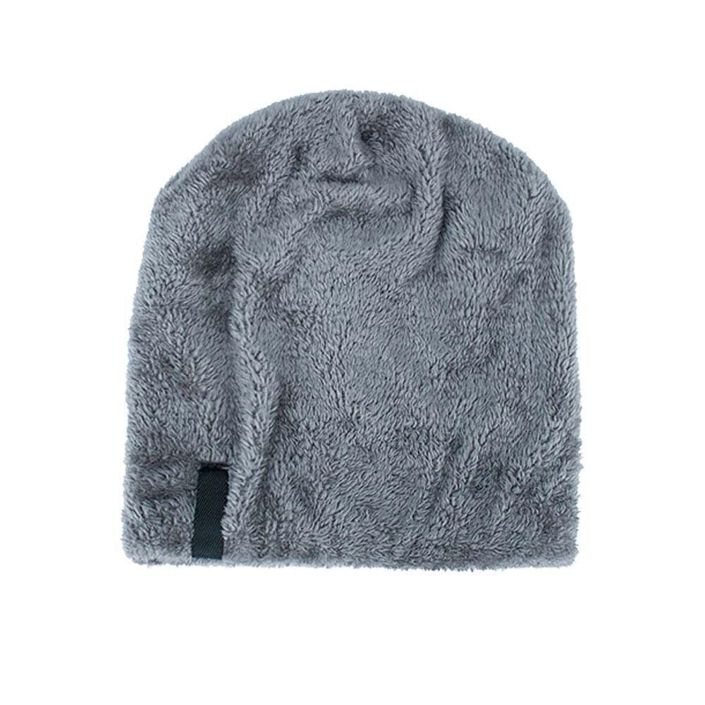 Men Women Knitted Baggy Beanie Winter Warm Hat Ski Causal Knit Cap Hats CA ILO