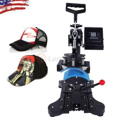 New Digital Hat Cap Heat Press Machine Sublimation Transfer T-shirt Mug Printer