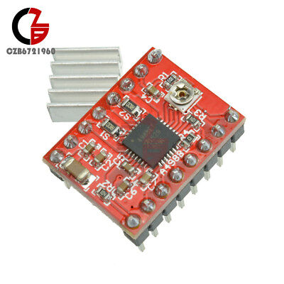 2510pcs Red A4988 Stepper Motor Driver Module For 3d Printer Ramps Reprap