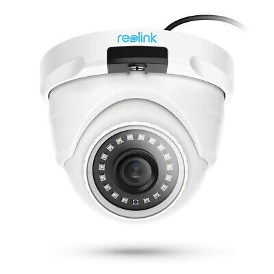 Reolink 4MP Add-on PoE IP Security Camera Wired Audio Waterproof HD Outdoor D400