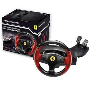 NEW Thrustmaster VG Ferrari Racing Wheel-Red Legend Edition-PlayStation 3 Condition: New