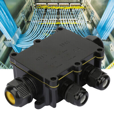 Waterproof Junction Box Electrical Enclosure Cable Connecting Terminal Block
