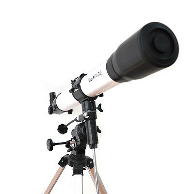 Visionking 80-900 Refractor Astronomical Telescope Unmatched Planet Finder+ Mount