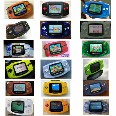 101 Shell - Nintendo Game Boy Advance GBA AGS 101 Brighter Mod Backlit Pick Shell & Buttons!