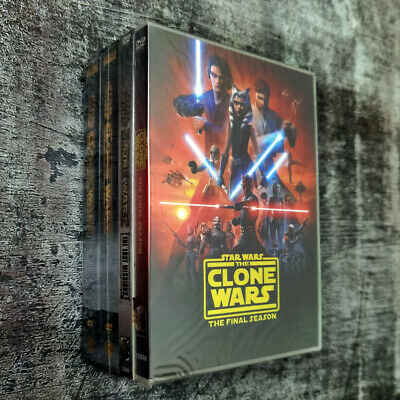 Star Wars the Clone Wars Complete Season 1-7 DVD ( 25-Disc Set ) 1 2 3 4 5 6 7