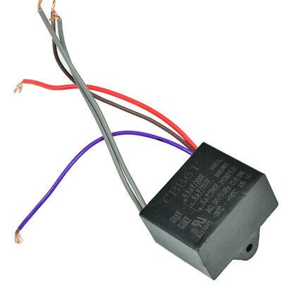 Ceiling Fan Capacitor CBB61 4.5uf+6uf+5uf 5 Wire Motor 250V-300V AC US