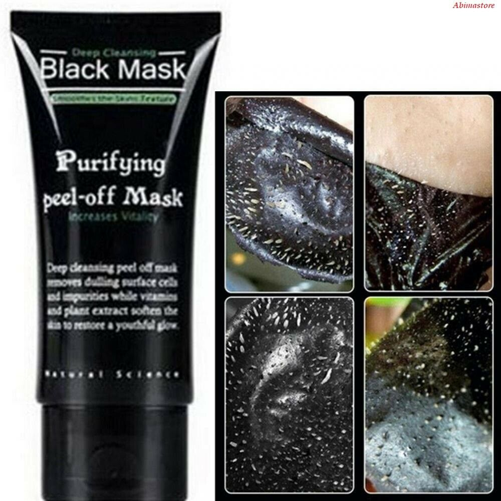 miami mask deep cleansing black mask