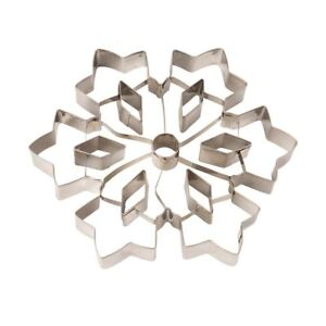 Eddingtons Large Ornate Snowflake Cookie Cutter - Christmas Pastry&Biscuit  20cm