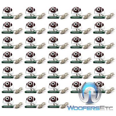 Lot Of 32 Football Usb Pc Webcam Video Chat Cameras Fps Windows Skype Msn Yahoo