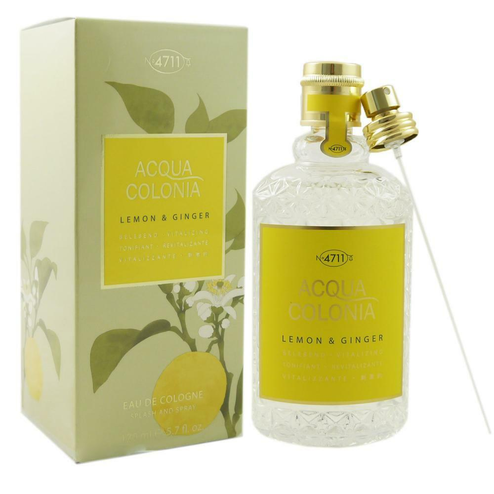4711 Acqua Colonia 170 ml Eau de Cologne EDC - verschiedene Sorten  Lemon  Ginger