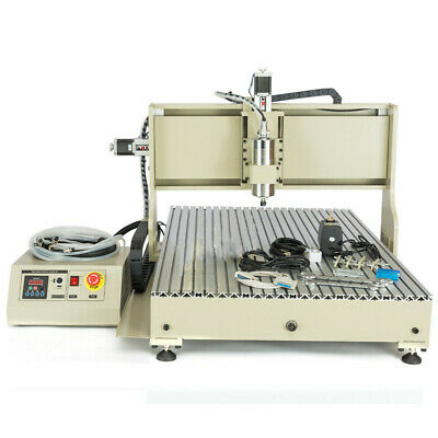 Usb 3 Axis 6090 Cnc Router Engraver 1.5kw Engraving Woodworking Milling Machine