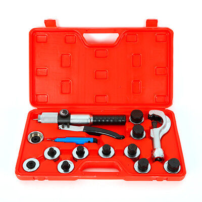 New 11 Lever Hydraulic Tube Expander Tubing Expander Deburring Tool Swaging Kit