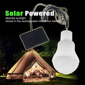 3W 1.2V LED Solar Energy Energy-saving Beach Bulb