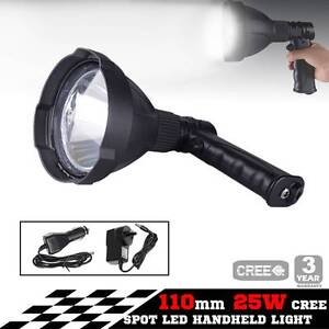 Free Delivery: 25W CREE LED Handheld Spot Light Rechargeable Melbourne CBD Melbourne City Preview