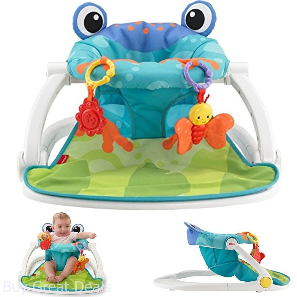 Details About Baby Fisher Price Sit Me Up Floor Seat Indoor Outdoor Kids  Infants Sitting Chair