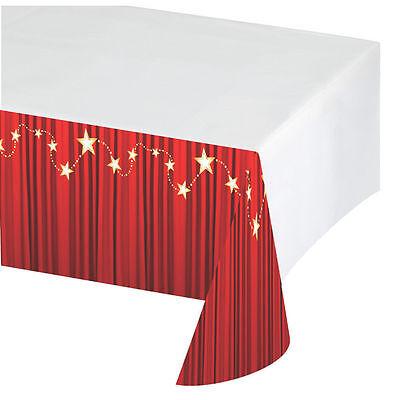 Hollywood Plastik Roter Teppich Tischdecke Tischdecke Oscars Film-Film Party