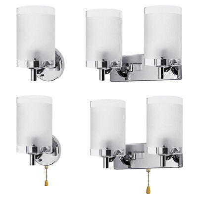 Decorative Glass Sconce (Modern Glass Wall Light Sconce Lighting Lamp Fixture Indoor Bedroom Decor)