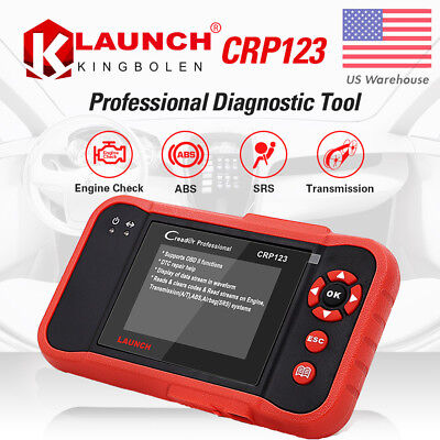 LAUNCH CRP123 ABS Airbag Professional OBD2 Scanner Diagnostic Tool Code Reader