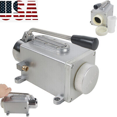 Hand Lubrication Systems Oil Pump Application Milling Machine Manual Pump Easy