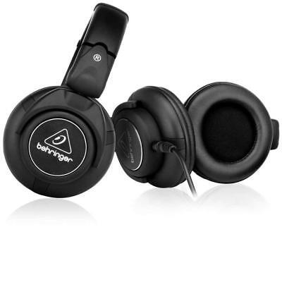Quality Dj Headphones (Behringer HPX6000 DJ Headphones w/ Superior Sound Quality & Enhanced Bass)