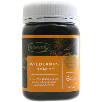 Comvita New Zealand Wildlands Honey with Manuka 500g